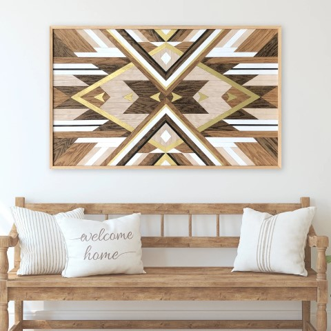 Woodworking Projects That Sell - Cleo Wood Wall Art
