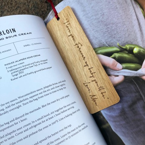 Woodworking Projects That Sell - Engraved Personalized Bookmarks