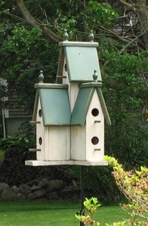 Woodworking Projects That Sell - Large Victorian Birdhouse