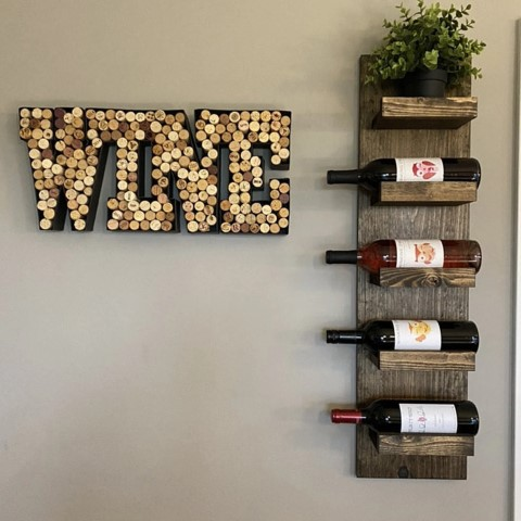 Woodworking Projects That Sell - Wooden Wine Rack